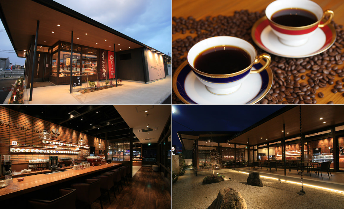 Salkura coffee (Kokutai street store)
